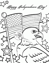 Small Picture Independence Day of 4th of July coloring page for kids coloring