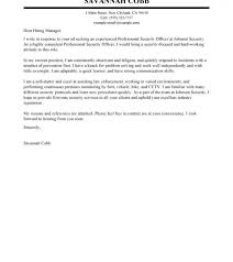 Police Officer Cover Letter Examples Law Enforcement Police Officer