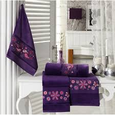 decorative bath towels purple. Decorative Bath Towels Purple P