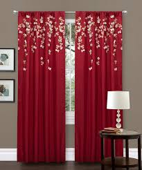 Red Curtain Ideas Curtains For Living Room Red Grommet Living Room Red Curtain Ideas For Living Room