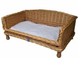 wicker dog bed. Plain Bed In Wicker Dog Bed