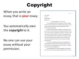 copyright law for middle school students copyright when you write an essay