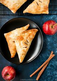 puff pastry apple turnovers little