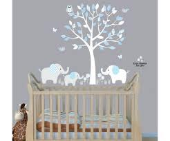 elephant themed baby boy nursery rooms baby nursery decor elephants below beautiful tree baby  on baby elephant wall art for nursery with boy elephant wall art baby blue boy from trm design wall art