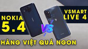 Máy tính bảng dưới 3 triệu tốt nhất | So sánh Vsmart Live 4 vs Nokia 5.4:  Dưới 3 triệu hàng Việt quá ngon - Công Nghệ 24h
