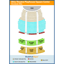 Connor Theater Seating Chart Playhouse Square Connor Palace Seating Chart Www