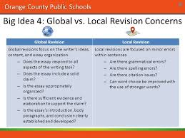 top big ideas about writing th grade rd quarter english 7 orange