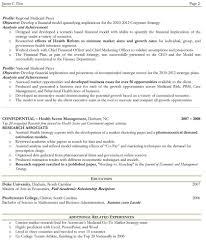 Two Page Resume Sample Berathen Com