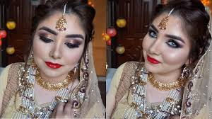 bridal makeup by nishoo khan in urdu hindi