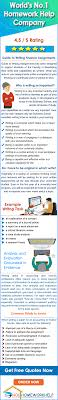 finance homework help for mba students by mba phd expert writers mba homework assignment