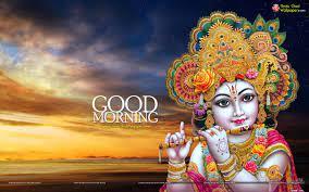 Shri Krishna Good Morning Wallpaper ...