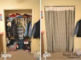 diy closet curtain harper honey pertaining to curtains for doors design 10
