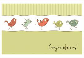Congratulations Card Template 24 Free Sample Example Format