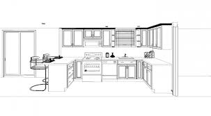 Kitchen Layout Small Floor Plans Kitchen Blueprints Floor Plan