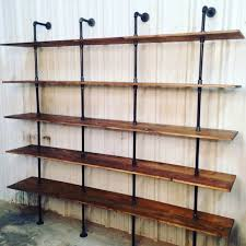 industrial modern furniture. industrial furniture looks great in any space especially this modern shelf unit each c