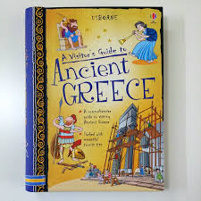 Usborne A Visitor's Guide to Ancient Greece by Lesley Sims, 129 pages,  Hardcover Ring Bound(Children Non-Fiction), Books & Stationery, Children's  Books on Carousell