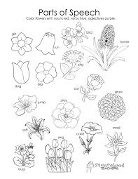 Small Picture parts of a plant coloring page free coloring sheets flower