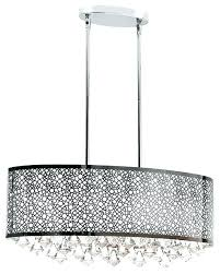 oval crystal chandelier chrome luxury light contemporary chandeliers with drop o oval crystal chandelier