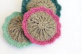 Free Crochet Patterns For Scrubbies Fascinating Crocheted Hemp Scrubbies Free Pattern Persia Lou