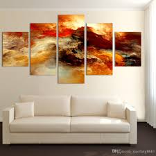 Canvas Art 2017 Fashion Large Canvas Art Abstract Canvas Painting Color Cloud
