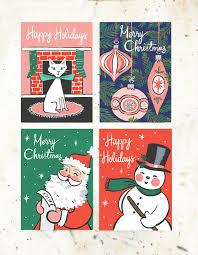 Retro Holidays Retro Holiday Postcard Collection