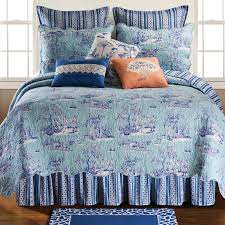 french blue toile bedding wayfair