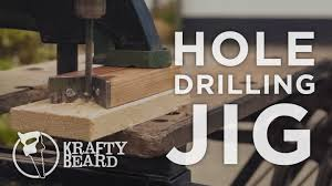 drilling straight holes without a drill press making a drill guide jig you