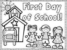 Back To School Coloring Page Back To School School
