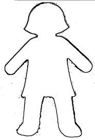 Boy Outline Template Rome Fontanacountryinn Com