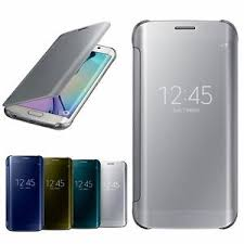 samsung note 8 case. image is loading luxury-mirror-flip-view-leather-hard-case-cover- samsung note 8 case
