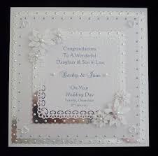 daughter wedding day ebay Wedding Card Verses For Son And Daughter In Law wedding day card for son daughter friends etc personalised wedding card messages for son and daughter in law