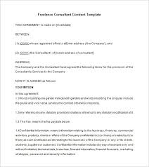 Free Consultancy Agreement Template Uk Consultancy Agreement