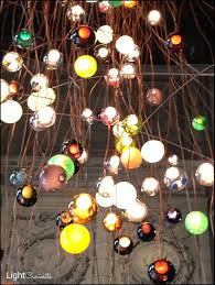 colorful chandelier lighting. Artistic Bocci Lighting For Modern Ceiling Fixture: Colorful Chandelier Beautiful