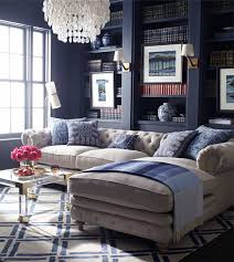 Aesthetic Blue Living Room Ideas Décor Aid Delectable Navy Blue Living Room