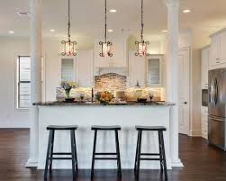 Kitchen With Columns Designs