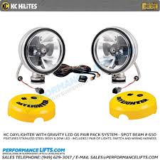 kc hilites daylighter 20w gravity led pair pack system stainless KC LED Running Lights at Kc Hilites Led Wiring Harness