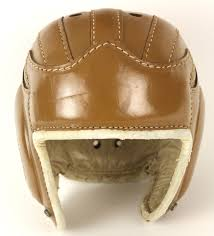 1940s vintage leather football helmet touch to zoom