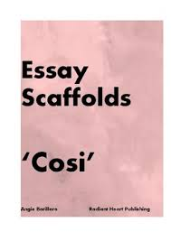 cosi louis nowra two essay scaffolds tpt cosi louis nowra two essay scaffolds