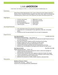 Gallery Of Best Sales Representative Resume Example Livecareer
