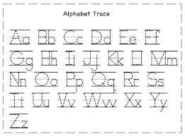 Alphabet Tracing Worksheets Small For Kindergarten 3 Year Full Size ...