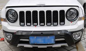 black front head light headlamp circles cover protector 2pcs for jeep patriot 2016 2016 2016 2016 2016 on aliexpress com alibaba group
