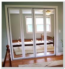 installing mirrored closet doors image of mirror closet doors installing mirrored bifold closet doors