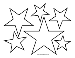 printable star star template star templates teachers printable project ideas