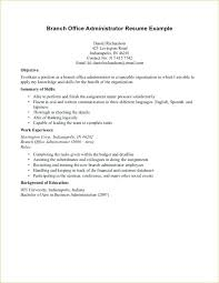 Example Of Objective Resume Example Of Job Objective For Resume ...