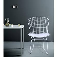 white wire chair. Wonderful White White Wire Side Chair On