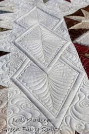 Free Motion Quilting Patterns for Beginners | Sewing | Pinterest ... & Judi Madsen of Green Fairy Quilts. Adamdwight.com