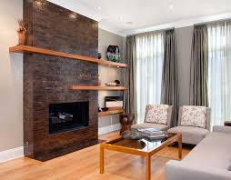 Image Of: Contemporary Fireplace Mantel Shelves