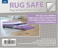 anti slip rug carpet gripper underlay for hard wood laminate floors 65 x 95cm 5017440070017