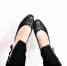 Designer Black Flats 5 Reasons To Splurge On Chanel Ballet Flats Designer Vintage