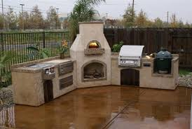 Outdoor pizza oven italian